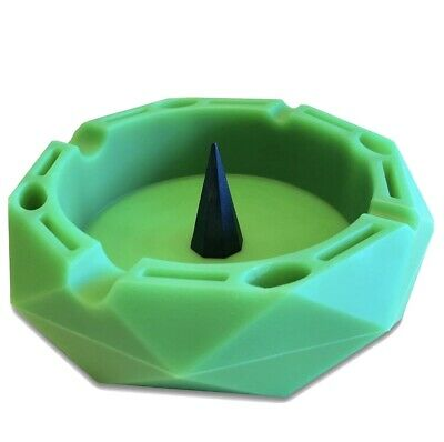 GrowCo Bowl /& Pipe Ashtray with Poker Heat Resistant Silicone Dishwasher Sa...