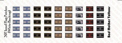 US Flag Shoulder Patches 1//18 Scale Custom Waterslide Decals 80 total
