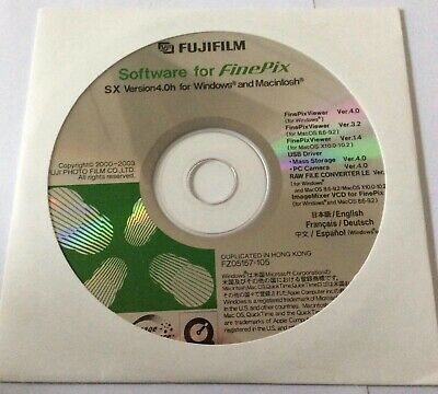 Genuine Original FujiFilm Fuji FinePix JX530 Owners Manual//Software CD