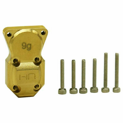 Hot Racing 9g Brass Diff Cover Axial SCX24 SXTF12CH differential