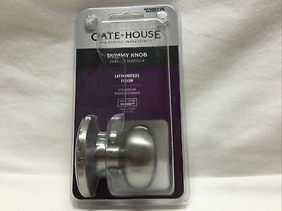 Gate house satin nickel finish keyed entry 0332603