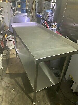 Stainless Steel Kitchen Table Solid Welded, Good Quality, From Kamrul