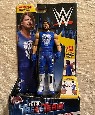 WWE RANDY ORTON TOUGH TALKERS FIGURE TOTAL TAG TEAM INTERACTIVE THE VIPER
