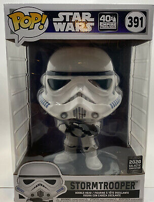 10 INCH STAR WARS STORMTROOPER #391 FUNKO POP 2020 GALACTIC CONVENTION EXCLUSIVE