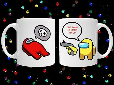 Among Us Imposter Unique Coffee Cup Gamer Tea Mugs Small Uk Business 10 99 Picclick Uk