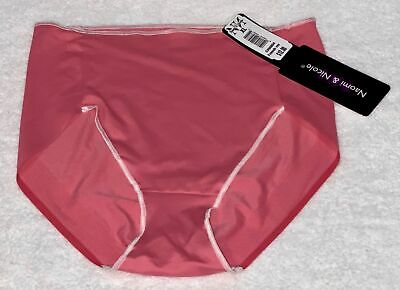 NAOMI NICOLE Waistline Firm Control Blue Iris Shaping Brief NEW Womens Sz S M XL