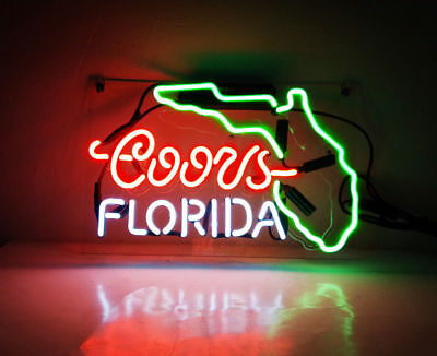Neon Signs Gift Frog Real Glass Beer Bar Pub Store Homeroom  Decor 14/'/'x9/'/'