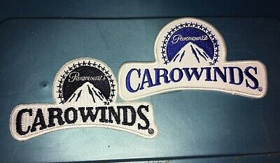 Paramount's Carowinds Charlotte NC Amusement Park Embroidered Patch Badge