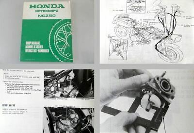 Honda NCZ 50 Motocompo 1983 Service repair work shop manual manuel d`atelier
