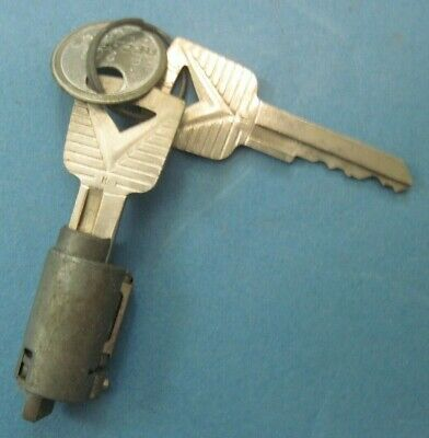 New Old Stock Ignition lock cylinder w Ford keys 1960-64 Ford Comet and Falcon