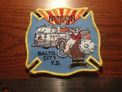 BALTIMORE CITY FIRE DEPARTMENT ENGINE COMPANY 58 PATCH