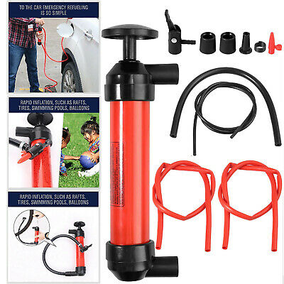 Fluid Extractor Pump Manual Suction Oil Fuel Disel Transmission Transfer Hand US