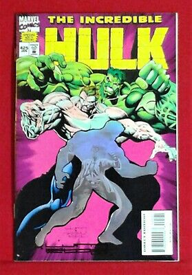 The Incredible Hulk #425 Fall of the Pantheon Hologram Cover NM High Grade
