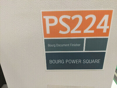 Bourg Booklet Maker---PS224 Xerox Nuvera---Condition TBD-Powers Up---Makes Books