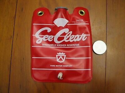 1966 Ford Thunderbird Windshield Washer Fluid Reservoir Bag /& Cap NEW