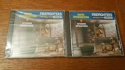 Rapid Intervention Firefighters Interactive Library, 2 disc set, Action Traini