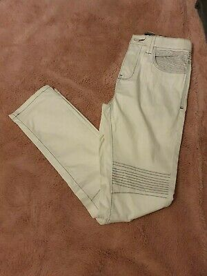 Next Skinny biker style Jeans Age 11 WORN ONCE