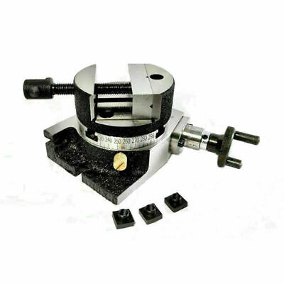 """ROTARY VICE 4/"""" { supplied with fixing bolts and Handle }"""