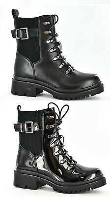 ARMY COMBAT BOOTS MILITARY BLACK LEATHER DEFENCE FLYERS MADE IN USA SIZE 8 EE