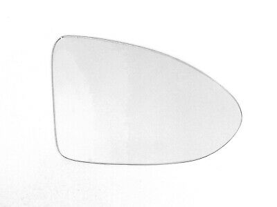 Right driver side heated wing mirror glass for VW Transporter T6 2015-20 clip on