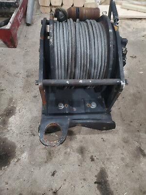 Brevini Hydraulic Winch BWF1500 BW1500 B0001530 with H4VA34 Motor