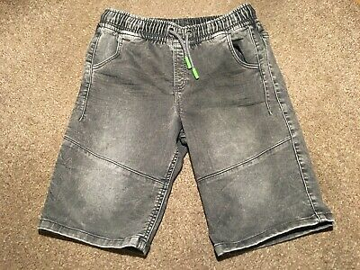 Boys 13-14 Years Shorts Jeans Trousers Denim Black F&F S/N235