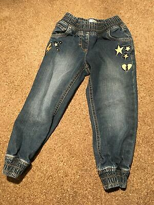 Boys Girls 2-3 Years Jeans Trousers Straight Cuffed Blue Very S/N214