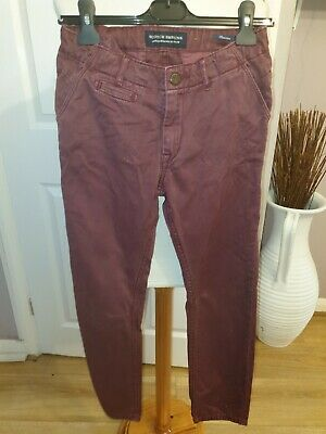 Superb Boys Designer Scotch Shrunk 'Freeman' Jeans Uk 10 Years Rrp £70.00