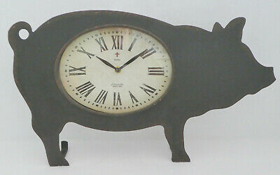 Pig Silhouette Laser Cut Out Of Metal 12x23.5