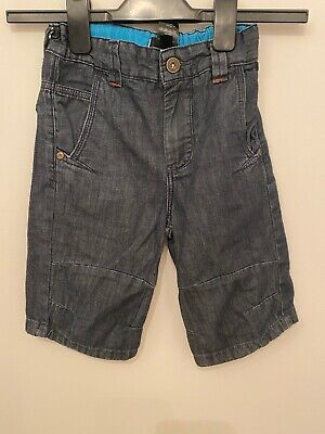 Boys 5-6 6 Years Shorts Jeans Trousers Denim Blue Next S/N139