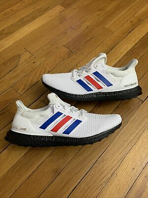 ADIDAS ULTRABOOST USA 2020 Running Shoes Red White Blue FY9049 ...
