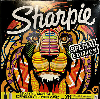 Sharpie Special Edition Adult Colouring Markers Assorted Snake Art Student Pens