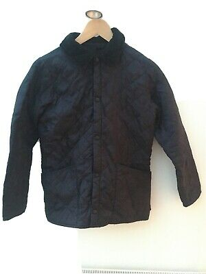 barbour children's Liddesdale quilted jacket Age 10-11 Kids Boys Girls VGC