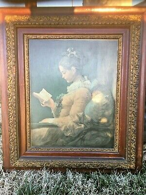 Beautiful Young Girl Oval Pastel Painting on Board Signed 15x12 Unframed