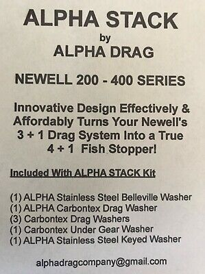Smooth Drag Carbontex Drag Washers #SDP1 4 NEWELL REEL PART G 338-F
