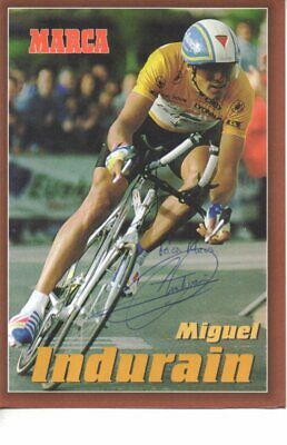 Autograph - Miguel Indurain (cycling)