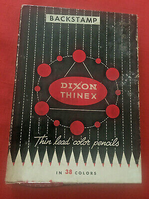 1 Doz. Of Dixon Thinex W Box Wood Pencils Green 417T.the Port Of N.y. Authority