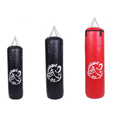 Punching Bag Boxing Punch Unfilled Core Adult Sport Sparring MMA Kicking Trainer