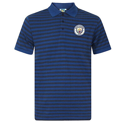 New Manchester City FC Official Men/'s Football Classic Core Polo Shirt