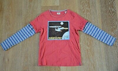 Scotch Shrunk Boys Space T-Shirt Size 10 EUC