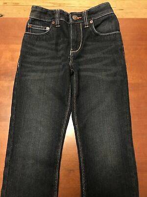 Next Boys Skinny Jeans Age 7 Navy, Excellent Condition