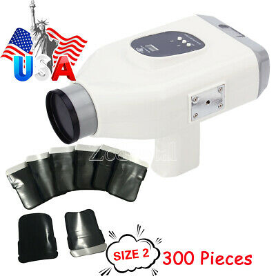 Dental Oral Protable X Ray Machine Generator with 300Pcs SIZE2 Barrier Envelopes
