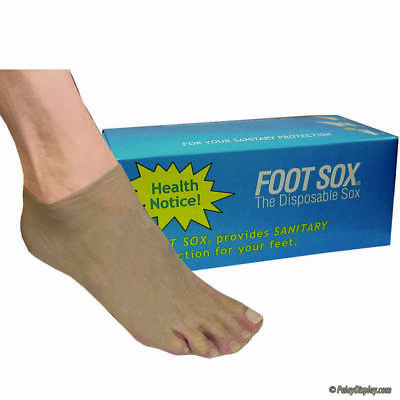 Foot Sox, Disposable Try on Sock, 144 per Box, Womens