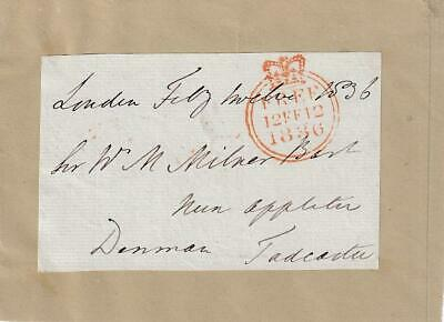 Denman- Free Franked Envelope (Requires Research)