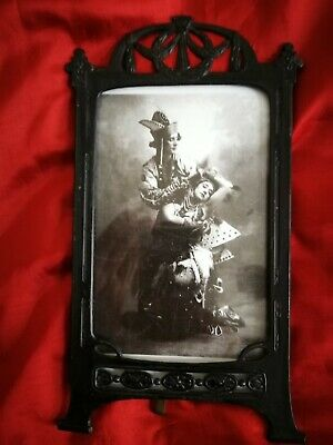 Lovely Original Art Nouveau ,Jugendstil, Metal Picture/Photo Frame