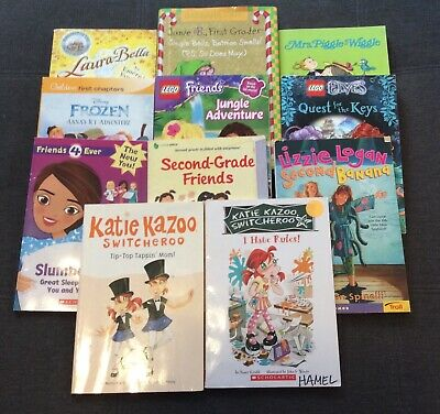 Lot of 11 Chapter Books for GIRLS Youth Early Reader Kids Katie Kazoo Junie B