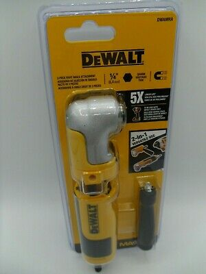 Genuine OEM DEWALT US version Right Angle Attachment DWARA060 for impact driver