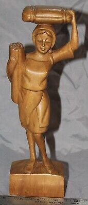 Hand-carved Wooden Figure