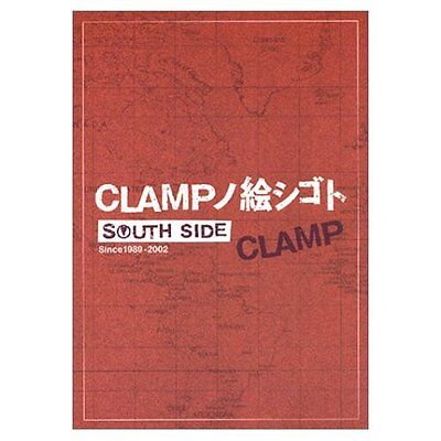 Clamp Artworks South Side 1989/2002 Japan Edition Book Anime Fantasy Newtype