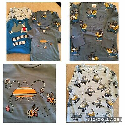 Brand New And Great Condition Polarn O Pyret Boys Top Bundle Size 2-3 Year